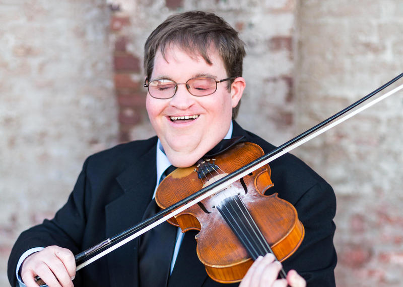 Michael Cleveland, blind from birth, is one of the most accomplished fiddlers in bluegrass music.
