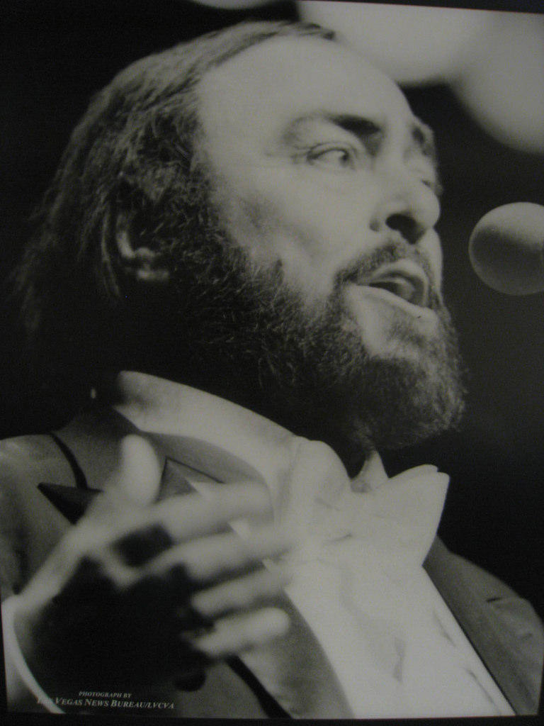 Luciano Pavarotti in 1999. Interlochen Public Radio - classical music for kids!