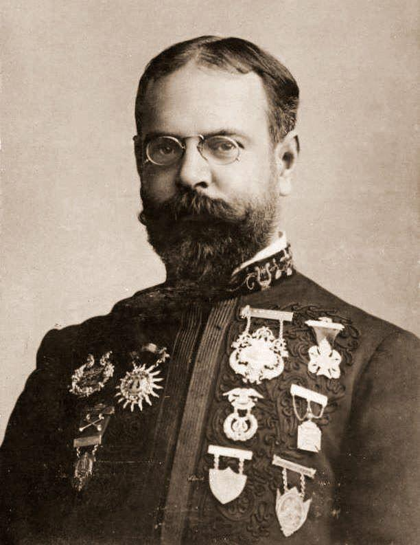 John Philip Sousa, composer of today's march, THE THUNDERER. Interlochen Public Radio - classical music for kids!