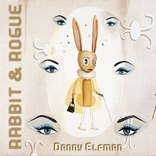 Album cover to Danny Elfman's ballet, RABBIT & ROGUE.