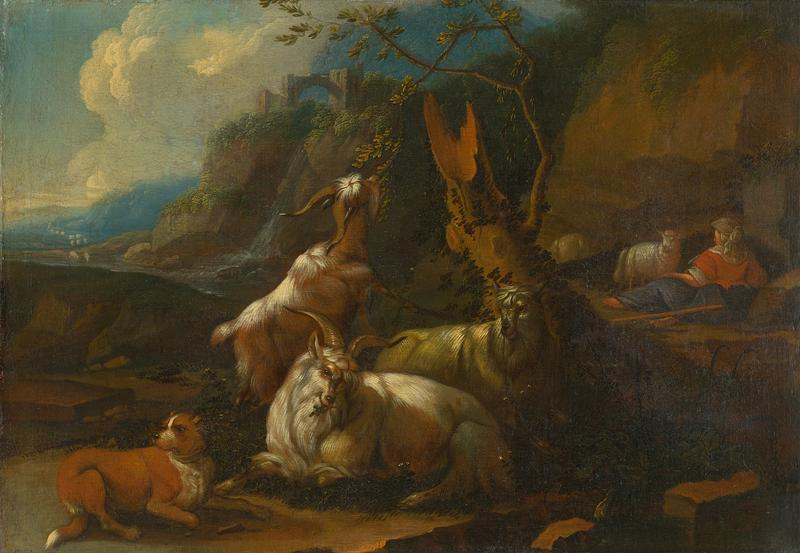 In today's music by Vivaldi, a goatherd takes a name under a leafy bower with his faithful dog.