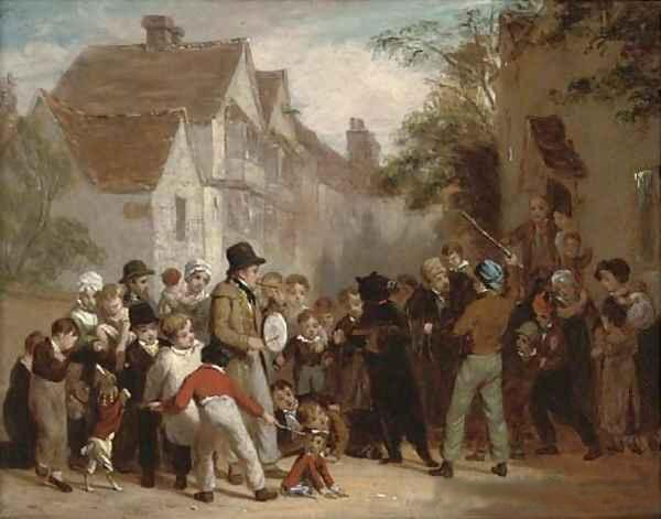 """""""The Dancing Bear,"""" painting by William Frederick Witherington. Interlochen Public Radio - classical music for kids!"""