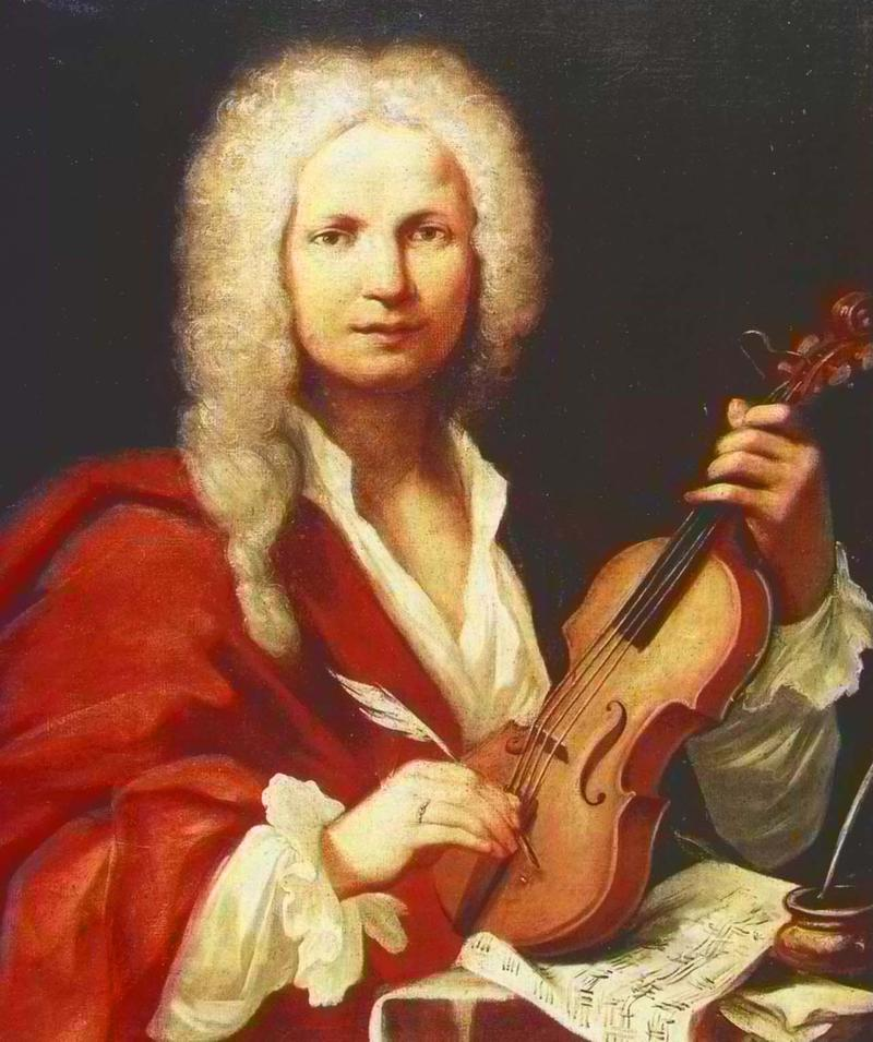 "Today, we'll hear the first movement of, ""Summer,"" from THE FOUR SEASONS by Antonio Vivaldi."