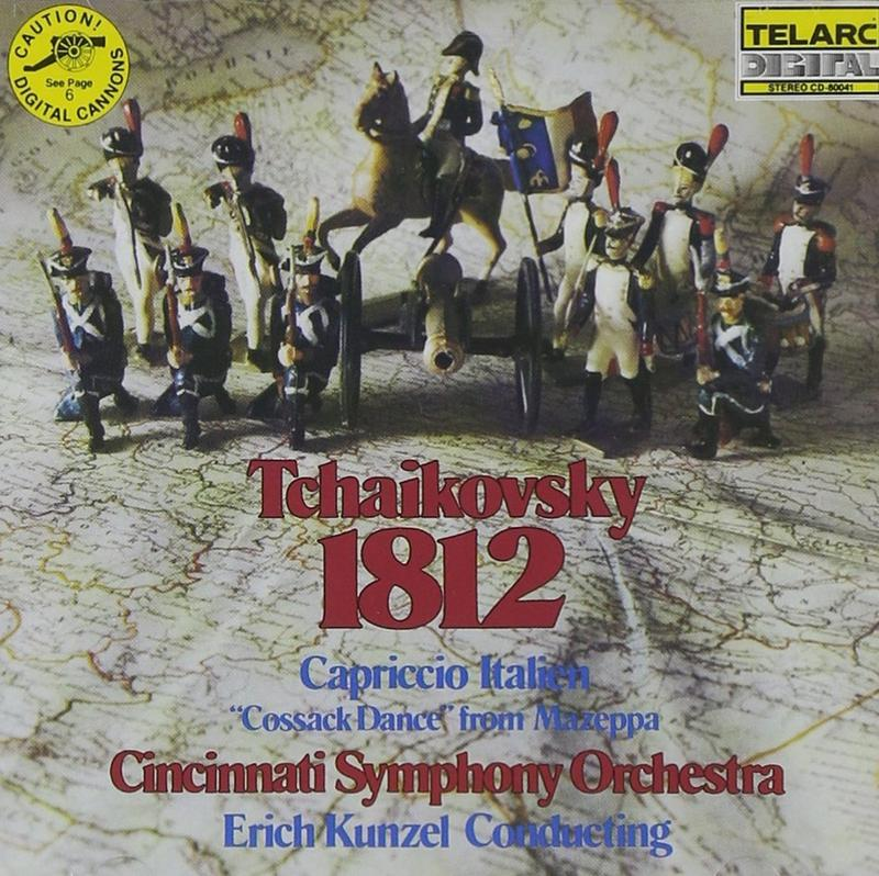 "Erich Kunzel conducts the Cincinnati Pops in this week's music, ""The 1812 Overture,"" by Tchaikovsky. Interlochen Public Radio - classical music for kids!"