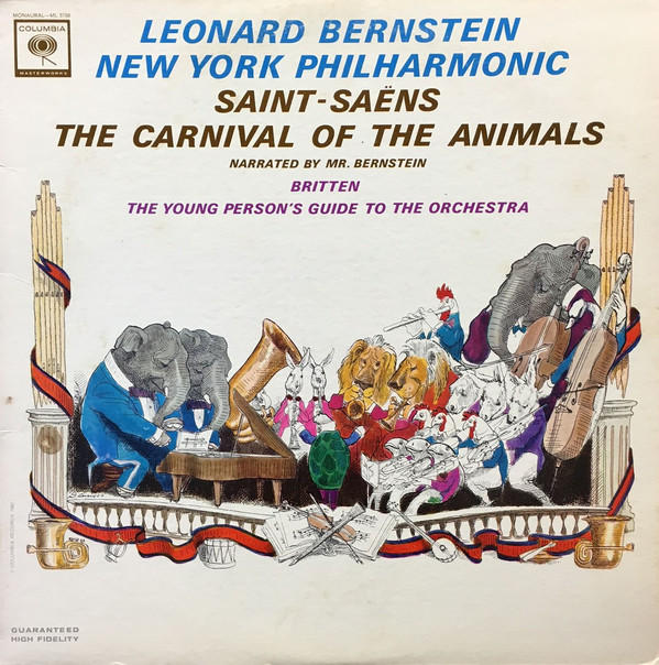 Leonard Bernstein conducts the New York Philharmonic, performing, THE YOUNG PERSON'S GUIDE TO THE ORCHESTRA.