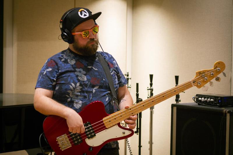 Bassist Vince Grimaldi.