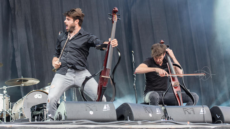 Luka Sulic and Stjepan Hauser are the Croatian cellists that form the duo 2Cellos. Interlochen Public Radio - classical music for kids!
