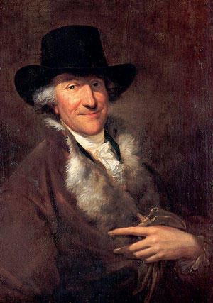 A portrait of JS Bach's eldest son, Wilhelm Friedemann Bach. Interlochen Public Radio - classical music for kids!