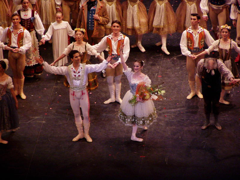 Today - the big finale to COPPELIA! Interlochen Public Radio - classical music for kids!