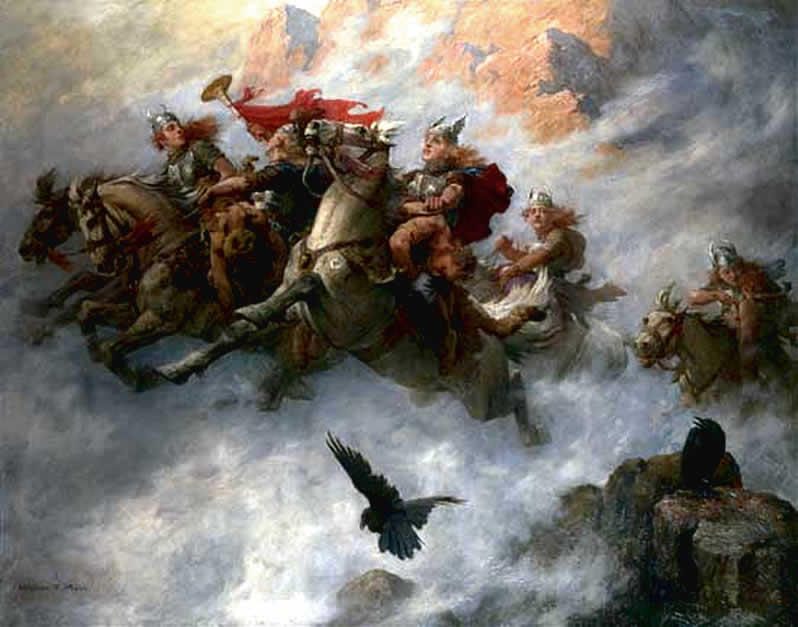 "Today, we'll hear the exciting ""Ride of the Valkyries"" by Richard Wagner. Interlochen Public Radio - classical music for kids!"