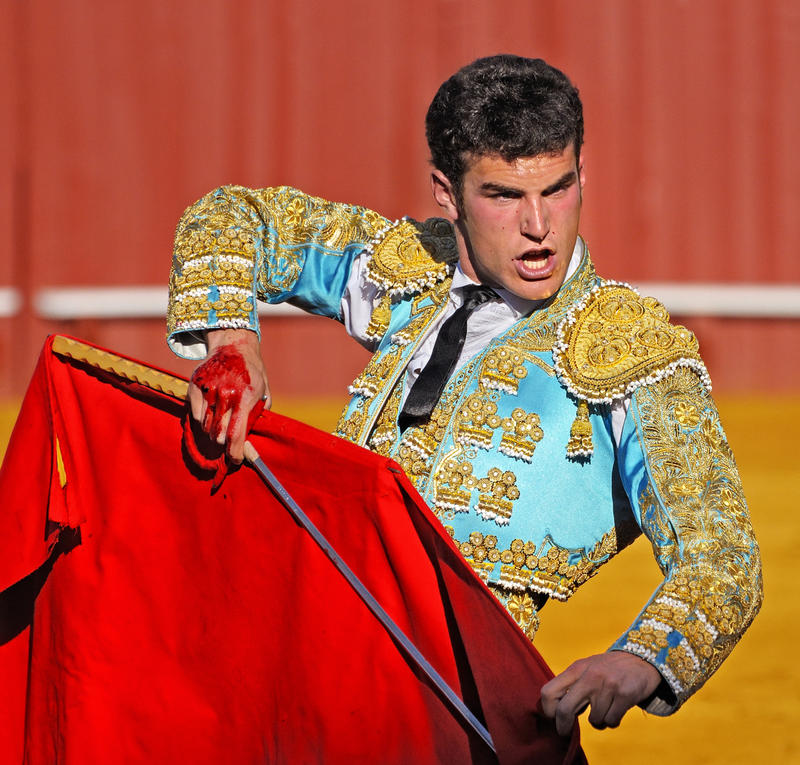 Matador in the Plaza de toros de la Real Maestranza de Caballería in Seville. Interlochen Public Radio - classical music for kids!