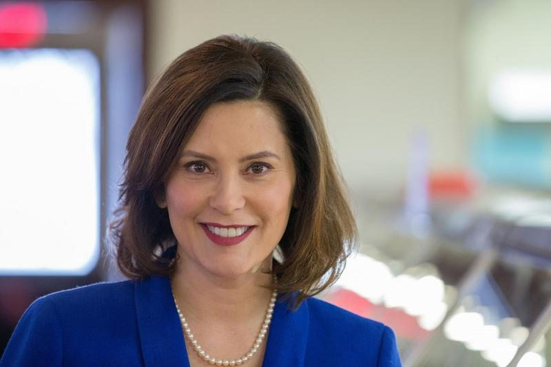 Gretchen Whitmer will become Michigan's 49th governor on New Year's Day.