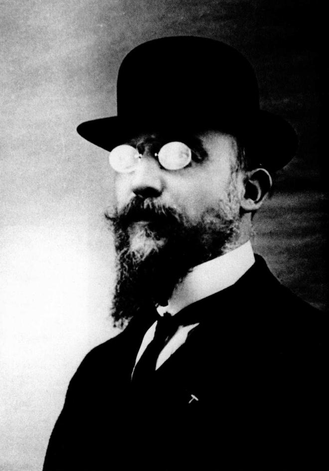 "KC 256 - Erik Satie, ""Je te veux."" This photo is of the composer in 1909. Lookin' pretty cool, huh?"