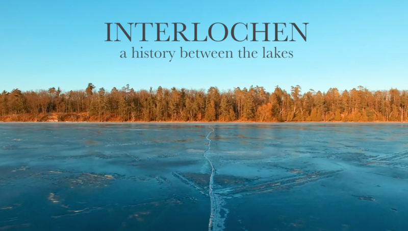 A new documentary remembers Interlochen's glacial history to the present.