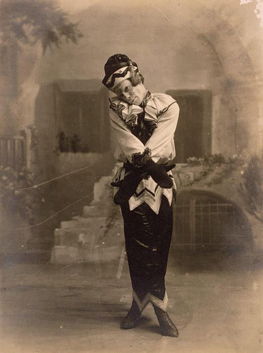 Vaslav Nijinsky as Petrouchka