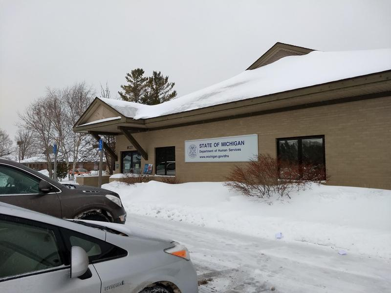 The Department of Health and Human Services office in Cheboygan.