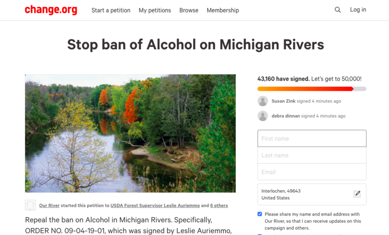 An online petition collected more than 40,000 signatures