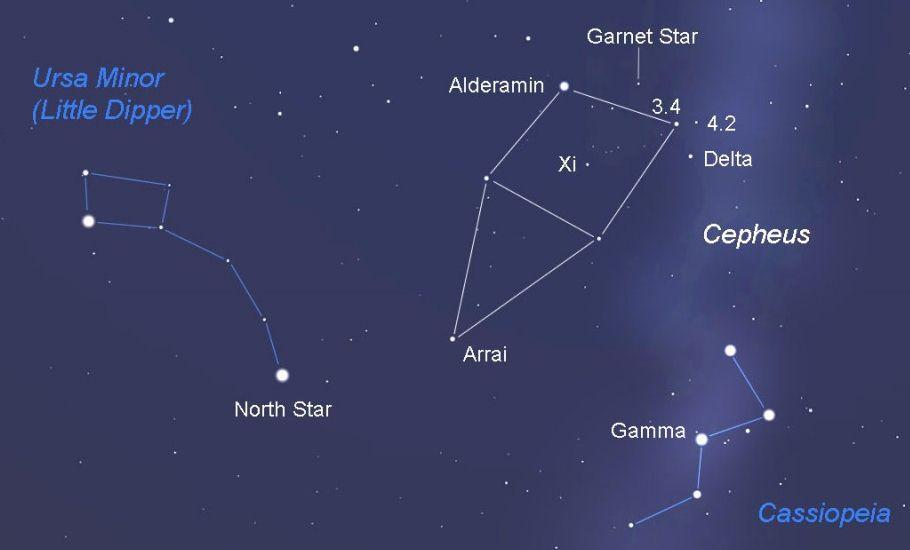 was there really a christmas star this week on the storytellers night sky
