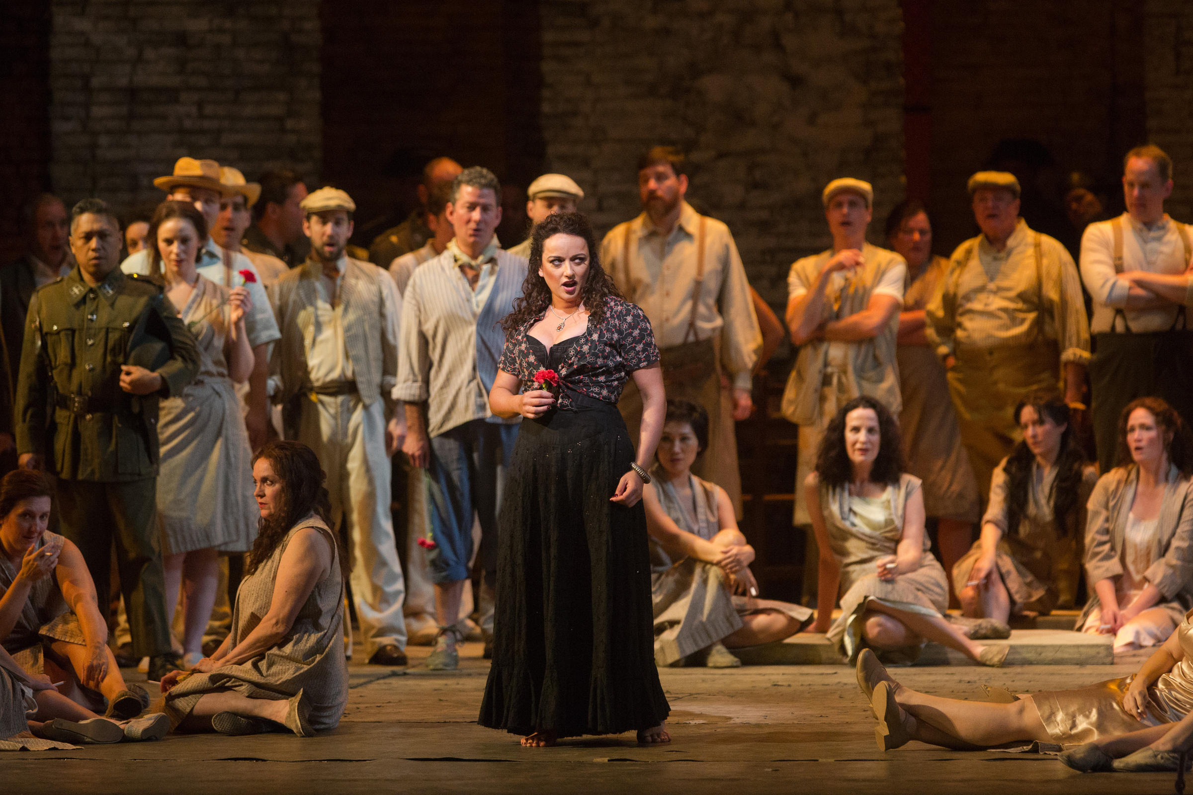 the opera carmen and gender roles Milijana nikolic stars in wa opera's production of carmenpicture: danella bevis  fighting, smoking and sex — and that's just the women  by lindy hume and  with the fabulous mezzo soprano milijana nikolic in the title role.