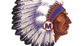 Mukwonago Native American Indian logo