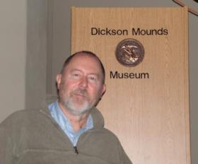 Dickson Mounds Museum Director Michael Wiant