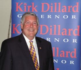 Kirk Dillard at a stop in Macomb during his last campaign for governor