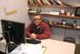 WIU Political Science Professor Casey LaFrance