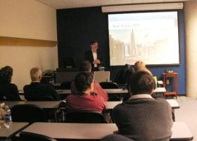 Professor Simon Cordery at Western Illinois University