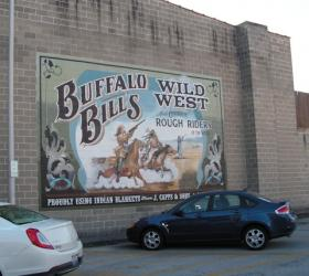 One of the murals in downtown Jacksonville