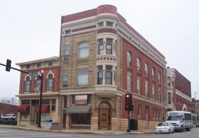 One of the buildings Terry Austin renovated in downtown Quincy
