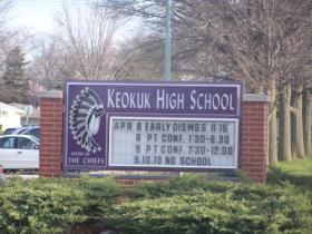 The Keokuk School District has seen its enrollment shrink by 10% over the last five years, even with an increase this year.