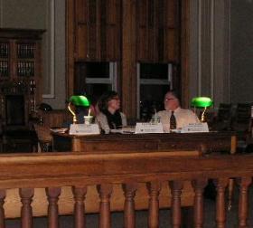 EPA Panel at Littleton Coal Mining Hearing.