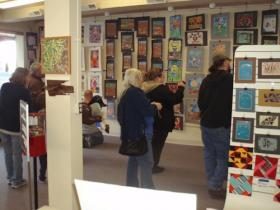 "The ""Budding Artists"" exhibit at the Fort Madison Areas Arts Association's downtown gallery"