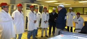 Members of the Keokuk City Council get a firsthand look at what Roquette America is doing.