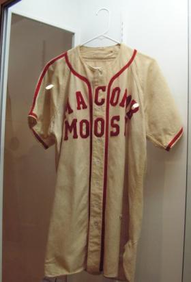 A Moose Lodge baseball jersey