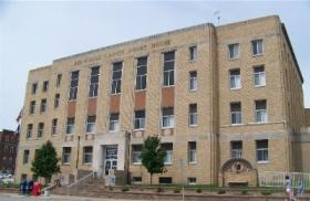 The auction will take place at the Des Moines County Courthouse.