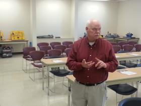 SCC Instructor Dave Rector