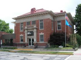 Macomb's Carnegie Library, which was built in 1904