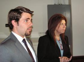Steve Wailand and his legal counsel Diane Cohen