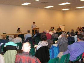 Public Hearing for the Renewal of the North Canton Mine's mining permit in Canton, IL