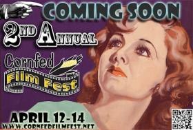 The poster for the second annual Cornfed Film Fest
