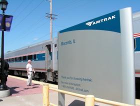Amtrak at Macomb