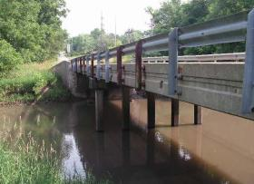 Bridge on Wigwam Hollow Road (Not confirmed Deficient.)