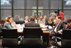 A rare bipartisan committee comprised of equal members of the Illinois House and Senate met for the second time in Chicago to discuss possible solutions to Illinois' underfunded pension systems.
