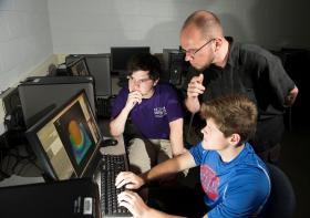 WIU Meteorology Professor Marcus Büker and his team are looking into what goes on inside tornadoes.