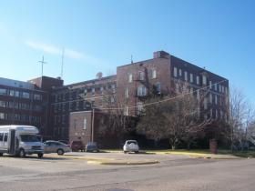 The Lee County Health Department's current location in Fort Madison.