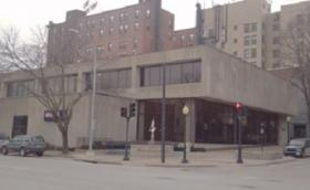 The building under consideration as a joint law enforcement facility in downtown Burlington
