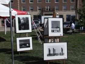 One of the exhibits at a previous Gazebo Arts Festival