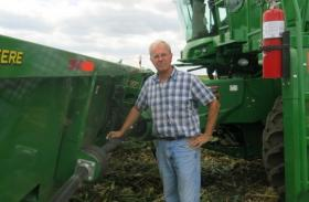 Illinois farmer Len Corzine has bought expensive new farm equipment each year for several years in order to ensure his tractor and combine hold up during harvest and planting.