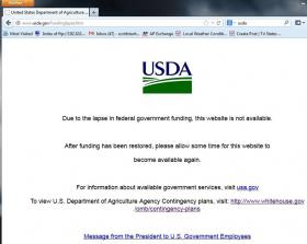 All USDA websites direct users to USA.gov.